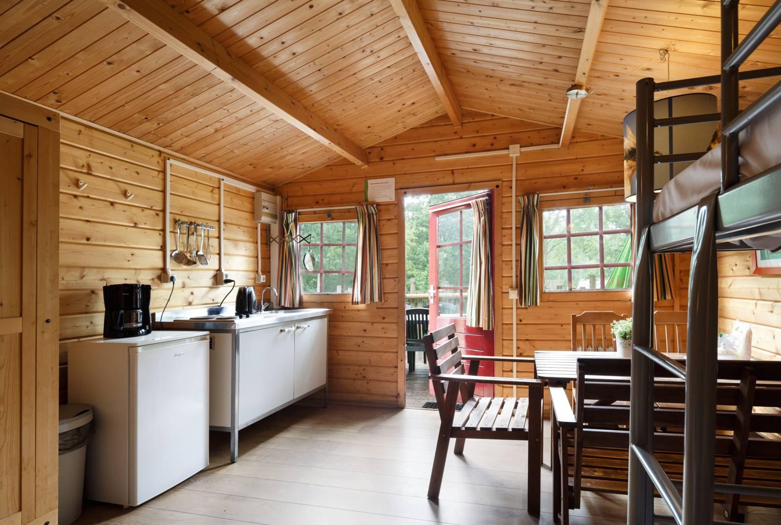 Boomhut Koekoek 4-persoons vakantiehuis