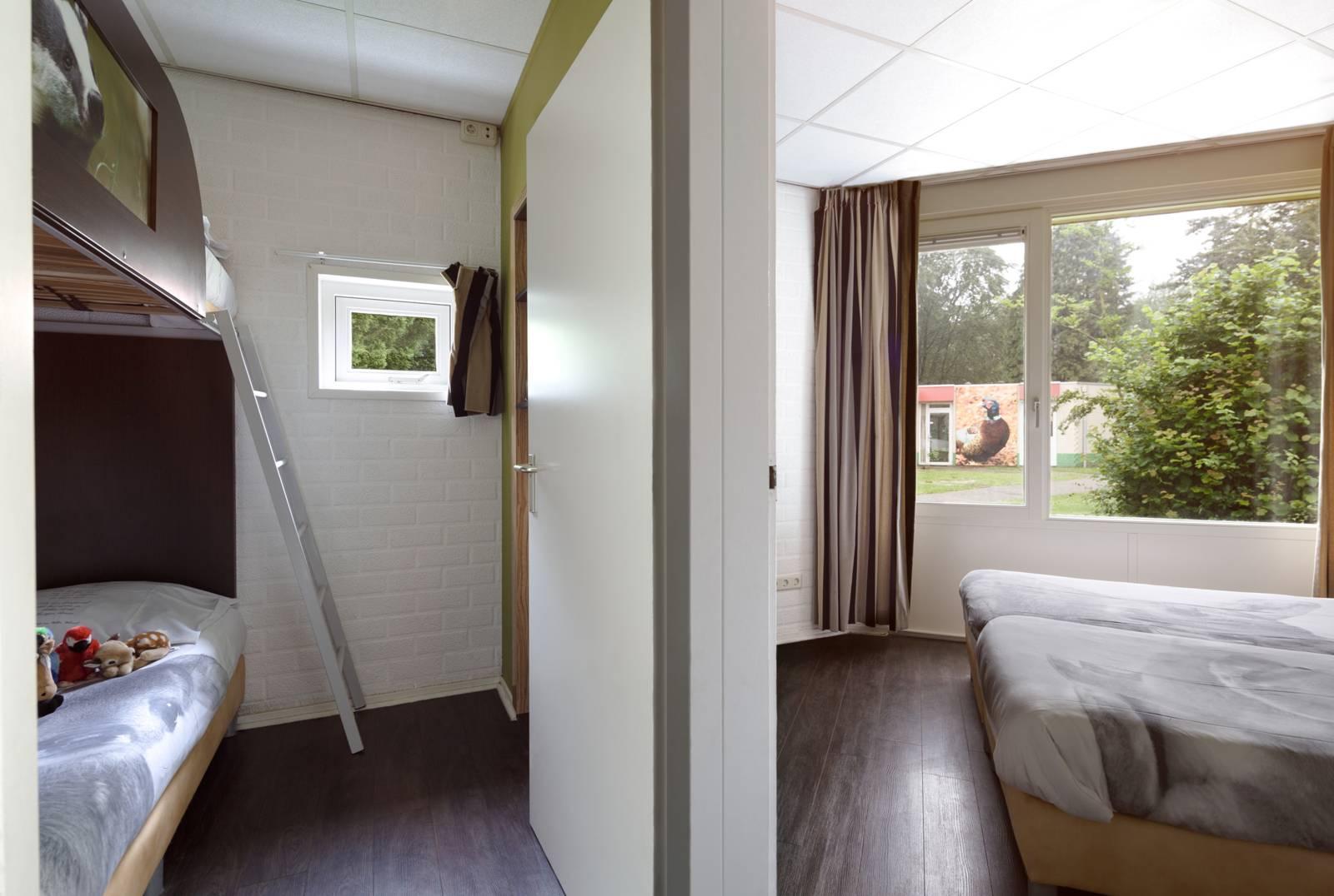 Bungalow das 8 persoons vakantiehuis for Interieur slaapkamer